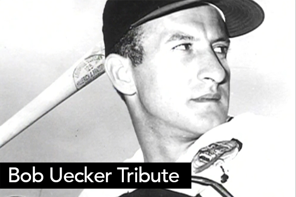 <font size=6>Bob Uecker Tribute</font><BR>NBC's Bob Costas narrated this piece we produced for Bob Uecker's induction into the Broadcasting Hall of Fame. We interviewed Bud Selig and Dick Ebersol to help tell the story.